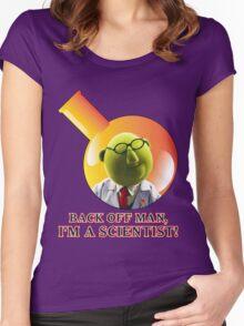 Dr. Bunsen Honeydew. Women's Fitted Scoop T-Shirt