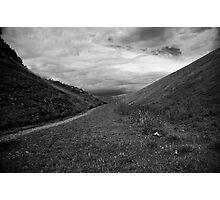 Derbyshire valley Photographic Print