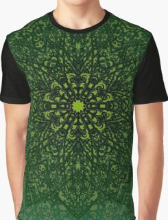 Mossy Green Graphic T-Shirt