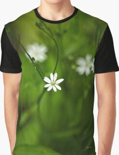 Chickweed Wildflowers Graphic T-Shirt
