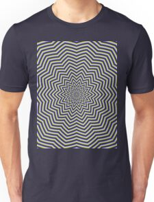 Star Ripples in Blue and Green Unisex T-Shirt
