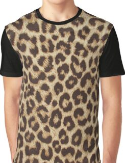 Leopard Print Graphic T-Shirt