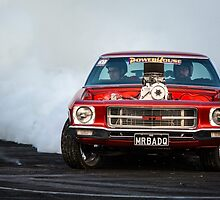 MRBADQ Tread Cemetery Burnout by VORKAIMAGERY