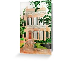 Creole Cottage Greeting Card