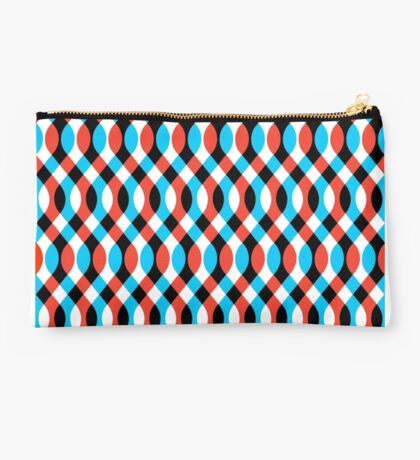 Brain Waves - Blue Studio Pouch