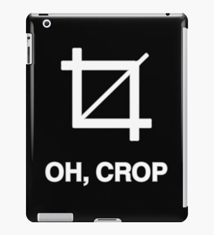 Crop iPad Case/Skin