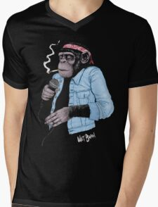 Wet Chimp Mens V-Neck T-Shirt