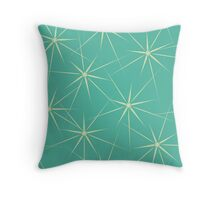 Tracery with stars Throw Pillow