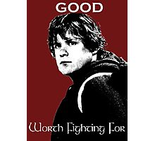 Samwise Gamgee - A Good Worth Fighting For Photographic Print
