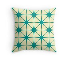 Tracery of the stars Throw Pillow