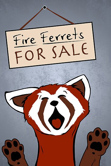 Fire Ferrets For Sale by thehookshot