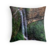 Gordon Falls - Blue Mountains NSW Australia Throw Pillow