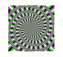 Self-Moving Unspirals Art Print