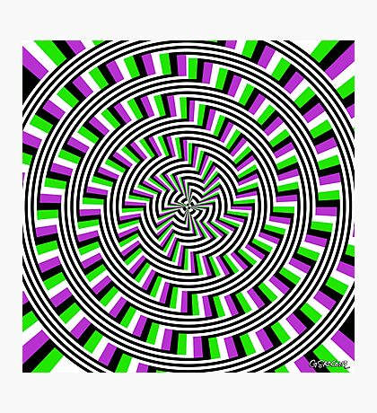 Self-Moving Unspirals Photographic Print