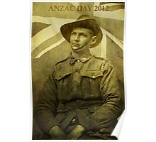 Anzac Day 2012 Poster