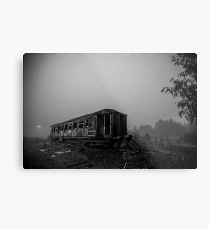 Night Train Metal Print