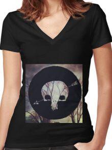 Shakey Graves-Built to roam Women's Fitted V-Neck T-Shirt