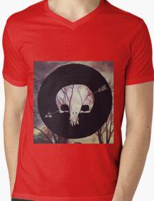 Shakey Graves-Built to roam Mens V-Neck T-Shirt