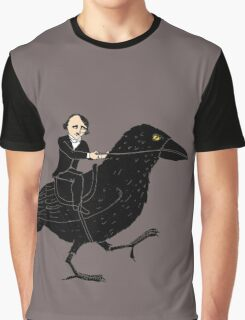 Poe and Raven Graphic T-Shirt