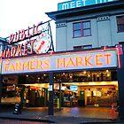 pike place market by gracepritchett