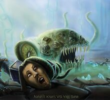 Notabilis Kruoris vs Yogg Saron by euology2000