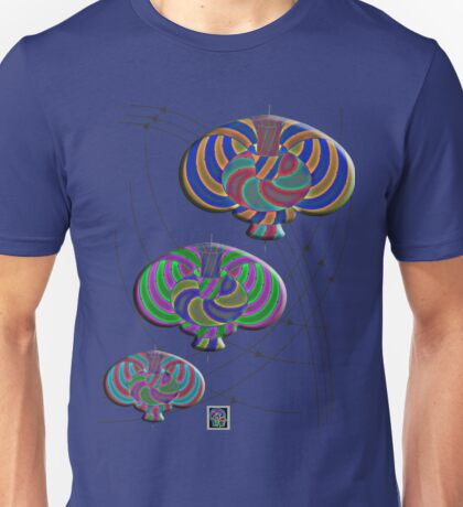 """""""Null Lines Wick Rotation Congruence 2""""© Unisex T-Shirt"""