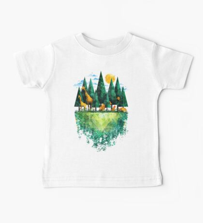 Geo Forest Baby Tee