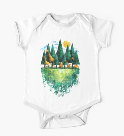 Geo Forest One Piece - Short Sleeve