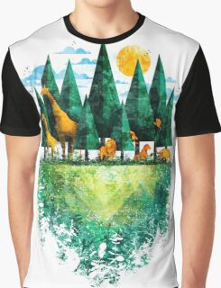Geo Forest Graphic T-Shirt