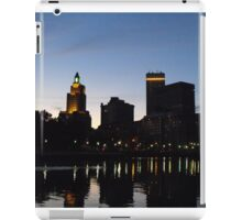 Providence Skyline at Night iPad Case/Skin