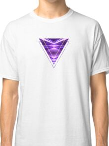 Geometric Street Night Light (HDR Photo Art) Purple Classic T-Shirt