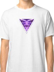 Geometric Street Night Light (HDR Photo Art) Purple Classic T-Shirt