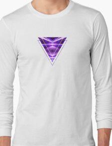 Geometric Street Night Light (HDR Photo Art) Purple Long Sleeve T-Shirt