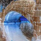 Rework Verona Bridge - Invert and Advanced HDR by Jane Neill-Hancock
