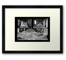 Point Lonsdale Pier Collage Framed Print