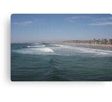 The vibrant coast of Newport Beach, California Canvas Print