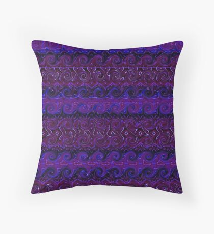 Violet Tapestry Throw Pillow