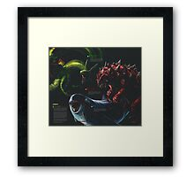 Weather Trio - Colour Framed Print