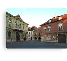 Sopron street II Canvas Print