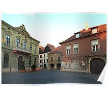 Sopron street II Poster