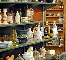 Antique Shop Shelves by MarjorieB