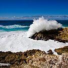The Mighty Ocean - Stradbroke Island Qld Australia by Beth  Wode