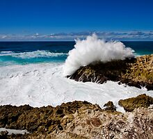 The Mighty Ocean - Stradbroke Island Qld Australia by Beth  Wode