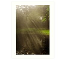 Morning Peace Sunrise Landscape Art Print