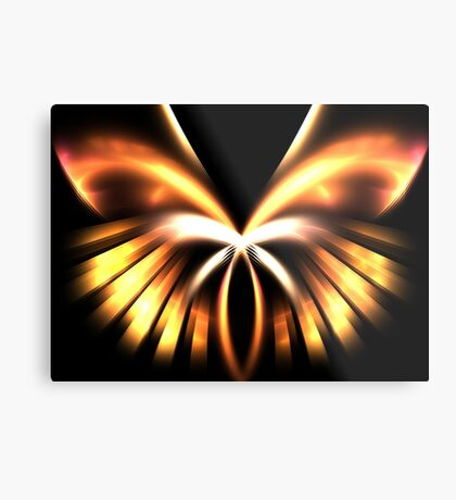 Copper Angel Metal Print