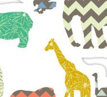 geo zoo Sticker