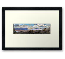 A Golden Hill Framed Print