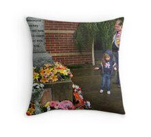 ANZAC Day 2012 - Glenroy RSL Throw Pillow