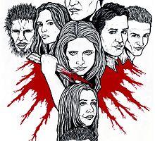 Buffy the Vampire Slayer by ArtOfOldSchool