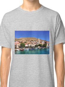 Fishing Boats at the Harbour Classic T-Shirt